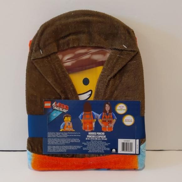 2/$20 NWT Lego hooded poncho bath beach cover up